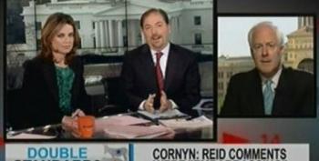 "Cornyn: Trent Lott Said Something ""Far More Innocuous"" Than Reid"