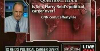 Cafferty Asks If Reid's Career Is Over