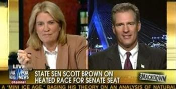 Van Susteren Allows Scott Brown To Distort Facts On Health Care Bill And Shill For Campaign Donations