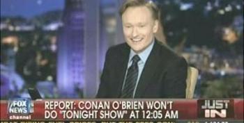 Conan O'Brien Quits NBC!