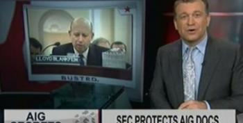 The Dylan Ratigan Show: SEC Protects AIG Documents