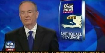 O'Reilly Attacks Media Matters, LA Times And Daily Beast For Their Criticism Of Fox's Haiti Coverage