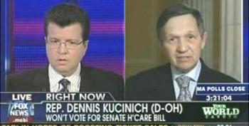 The Health Care Bill Is A Give Away To Insurance Companies! Congressman Kucinich