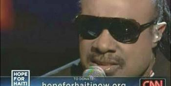 """Hope For Haiti Concert: Stevie Wonder: """"A Time To Love""""/ """"Bridge Over Troubled Water"""""""