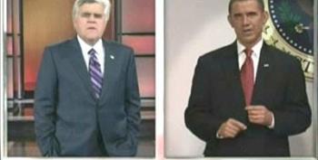 President Obama Explains A Few Things To Jay Leno