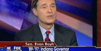 Evan Bayh Hits 'Far Left-Wing Blogs' For Criticizing Spending Freeze