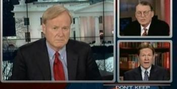 Matthews Gets Family Research Council's Sprigg To Admit He Thinks Homosexuality Should Be Outlawed