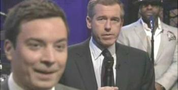 Jimmy Fallon & Brian Williams Slow Down The News