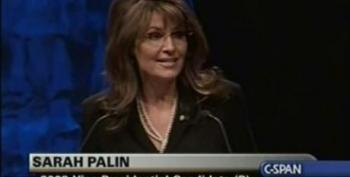 "Palin Calls Scott Brown ""Just A Guy With A Truck"" Ignoring Support From Romney"