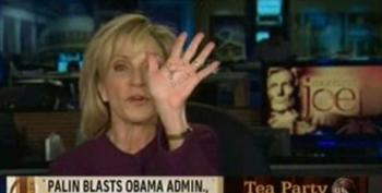 Andrea Mitchell Mocks Sarah Palin's Crib Notes