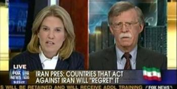 John Bolton Is Mad That The Obama Administration Doesn't Want Israel To Take A Preemptive Strike On Iran