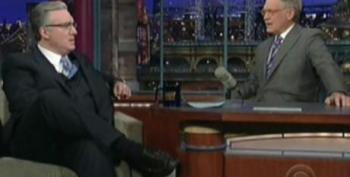 Keith Olbermann On The Late Show With David Letterman