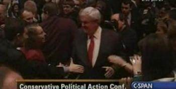 Newt Gingrich Greeted Like Rock Star At CPAC