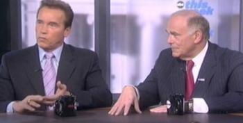 Schwarzenegger Slams GOP Stimulus Hypocrisy