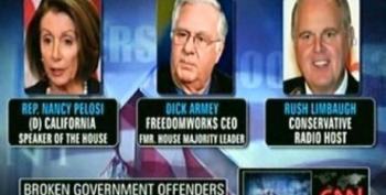 John Avlon Compares Nancy Pelosi To Dick Armey And Rush Limbaugh