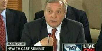 Durbin: If You Think Government Health Care Is A Socialist Plot Drop Out
