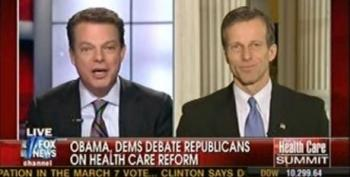 Shep Smith Calls Out John Thune For Repeating Republican Talking Points
