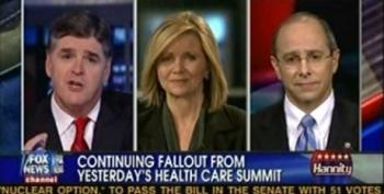 Blackburn And Boustany Come Crying To Hannity About How They Were Treated At The Health Care Summit