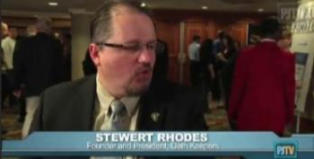 At CPAC, Oath Keepers' Stewart Rhodes Insists Paranoia Over Roundups Of Citizens Is Justified