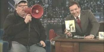 COMCAST SUCKS! Michael Moore On Jimmy Fallon Show