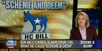 Mitch McConnell Accuses The Democrats Of 'Scheme And Deem'