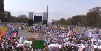 March For America In D.C.: Over 100,000 Show Up To Demand Immigration Reform