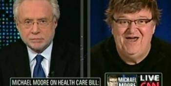 Michael Moore: Insurance Companies 'Thieves And Jackals.' Wolf Blitzer: Isn't That The Nature Of Capitalism?