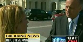 Steve King Runs From Dana Bash When Questioned About Inciting Protesters