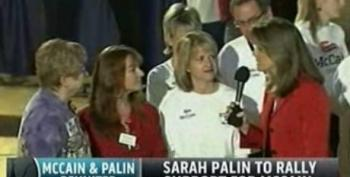 Norah O'Donnell: It's Clear That Sarah Palin Is The Main Attraction At McCain Rally