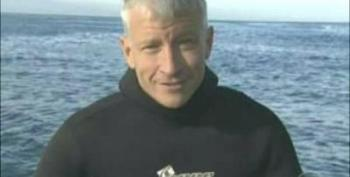 Anderson Cooper Swims With Great White Shark! (NO CAGE!)