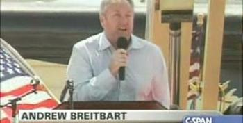 """How Dare They Call Us Racist!"" Andrew Breitbart Tea Party Rally Searchlight Nevada"
