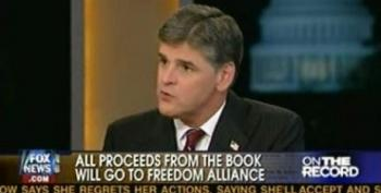 Hannity On Proceeds From His New Book: Every Penny I Would Make Is Going To Go To Freedom Alliance