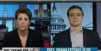 Rachel Maddow On President Obama's Compromise On Off Shore Drilling -- For What?
