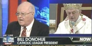 """An Innocent Man The Pope Is Being Libeled Slandered & Framed!"" Bill Donohue"