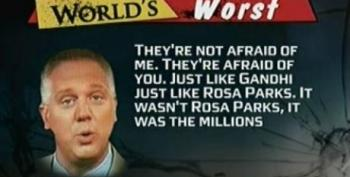 Worst Person: Glenn Beck Compares Himself To Civil Rights Leader Rosa Parks And Gandhi