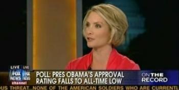 Greta Van Susteren Has Dana Perino Weigh In On Fox Presidential Approval Poll