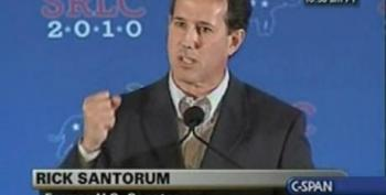 Rick Santorum Explains Right Wing Anger: Obama Wants To Change Us From Being A Judeo-Christian Nation