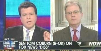 Cavuto Ask Senator Coburn Why Did You Go After FOX News?