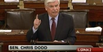 Chris Dodd Looks Like He's Finally Fed Up With Republican Obstruction On Financial Reform