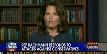 Hannity Has Bachmann On To Respond To Rep. McCollum's Charges Of 'Dangerous Name-Calling'