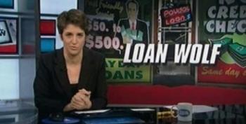 Rachel Maddow On Loan Shark Payday Lenders