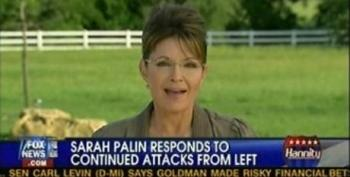 Hannity Plays Concern Troll For Palin Over Klein Saying She's Rubbed Right Up To Being Seditious