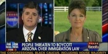 Palin Accidentally Slams Fox News As 'Lamestream Media'