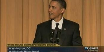 President Obama At The White House Correspondents' Dinner