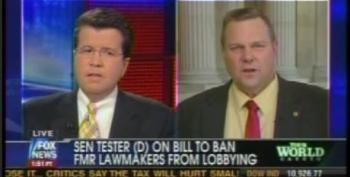 Sen. Jon Tester Explains His Proposal To Neil Cavuto: Ban Congress Members From Ever Becoming Registered Lobbyists