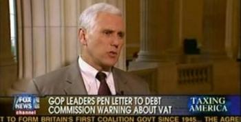 Mike Pence Blames Taxation Rather Than Wall Street For Greece's Financial Collapse