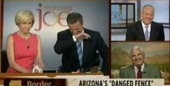 Scarborough And Shadegg Bust A Gut After Watching McCain's 'Complete The Danged Fence' Ad