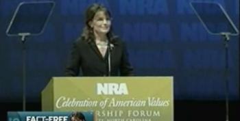 Palin Tells NRA Members Obama Would Ban Guns