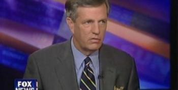 Brit Hume Minimizes How Bad The Gulf Oil Spill Is