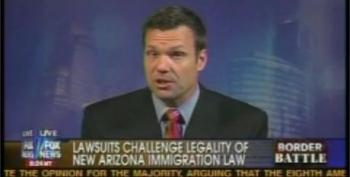 Greta Van Susteren Wonders What New Powers The Arizona Immigration Law Gives Police. Kris Kobach Misleads, Suggests None